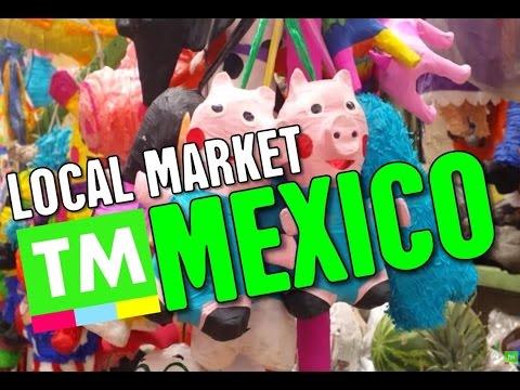 A Walk Through A Local Mexico City Market | Shopping