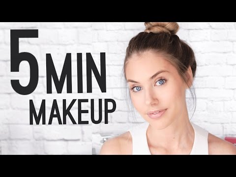 QUICK 5 MINUTE MAKEUP TUTORIAL