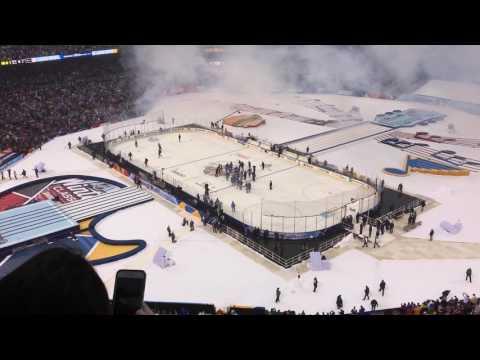 Blues vs. Blackhawks Winter Classic 1/2/17 Win