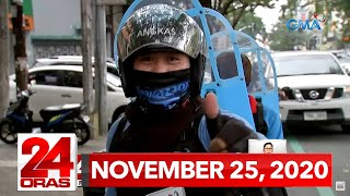 24 Oras Express: November 25, 2020 [HD]