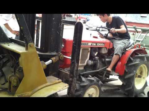 Xuất máy cày 4 bánh YANMAR 1300 - haisonco.vn