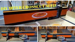DIY CrossCut Miter Sled