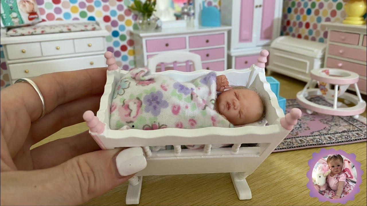 Mini Reborn Nursery Silicone Babies
