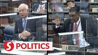 Najib speaks in Dewan Rakyat, tempers flare