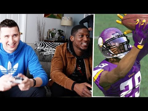 Xavier Rhodes called me out to come play him in madden!