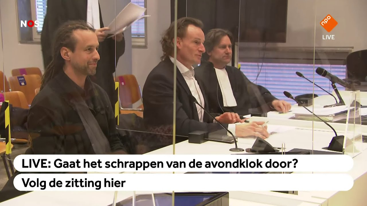 LIVE: Viruswaarheid wraakt rechters tijdens zitting over avondklok