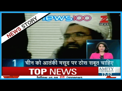 China once again stands in support of terrorist Masood Azhar