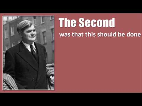 Inspirational Nye Bevan Speech about the NHS
