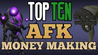Top 10: AFK Money Making Methods! [Runescape 2015]