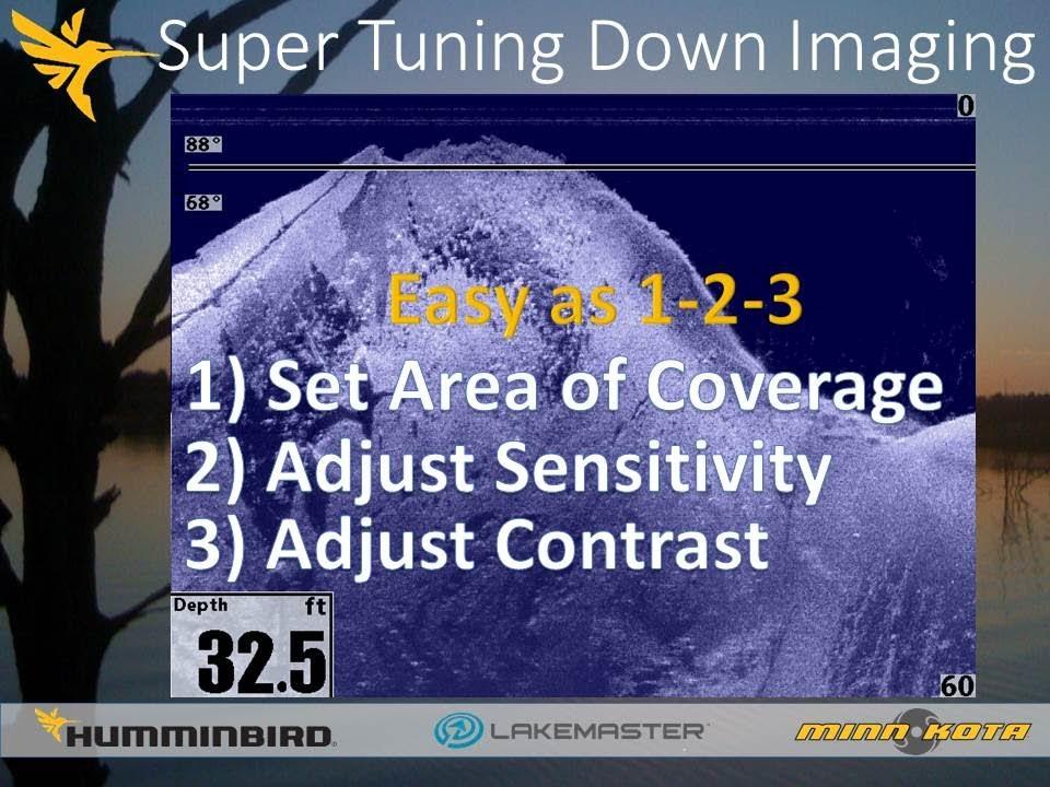 Humminbird Sonar Settings for models -> 7xx, 8xx, 9xx, 11xx