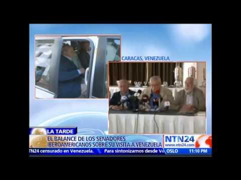 """""""No entendí bien qué es lo irritante y vomitivo para Maduro"""": senador español sobre su visita a Vzla"""