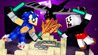 Minecraft Celebrity Survivor - SONIC VS CUPHEAD THE FINALE! [7]