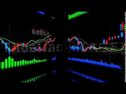 著作権フリー 映像素材 動画素材 ビジネス グラフ データ 経済 金融 ...
