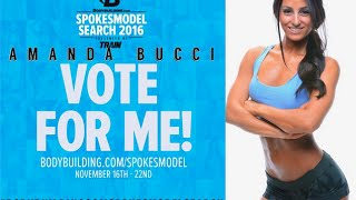 Vote For Me! Bodybuidling.com Spokesmodel Search 2016