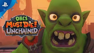 Orcs Must Die! Unchained - Announce Trailer | PS4