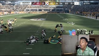 Nail Biter- Cant Believe This!  Madden 18 Online Rank Gameplay