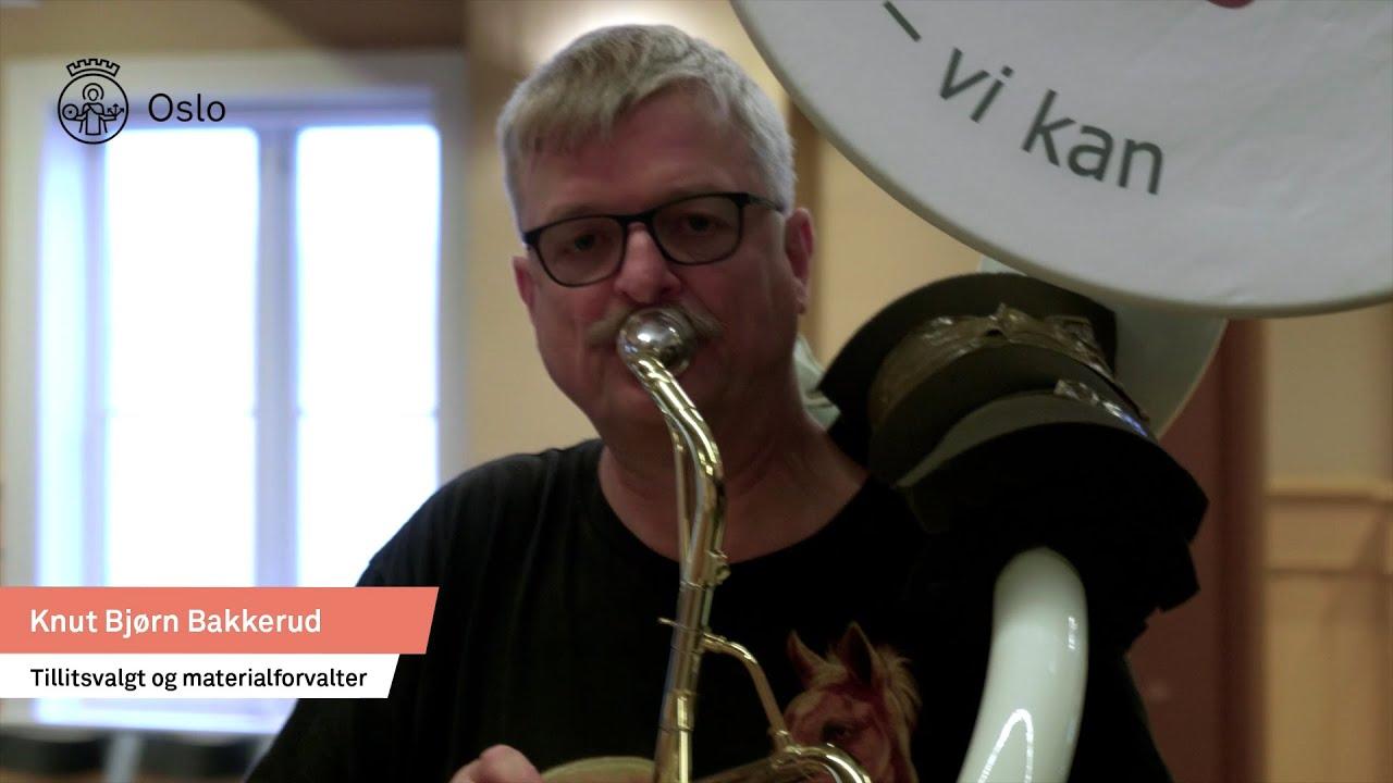 Knut Bjørn Bakkerud fra Torshovskorpset