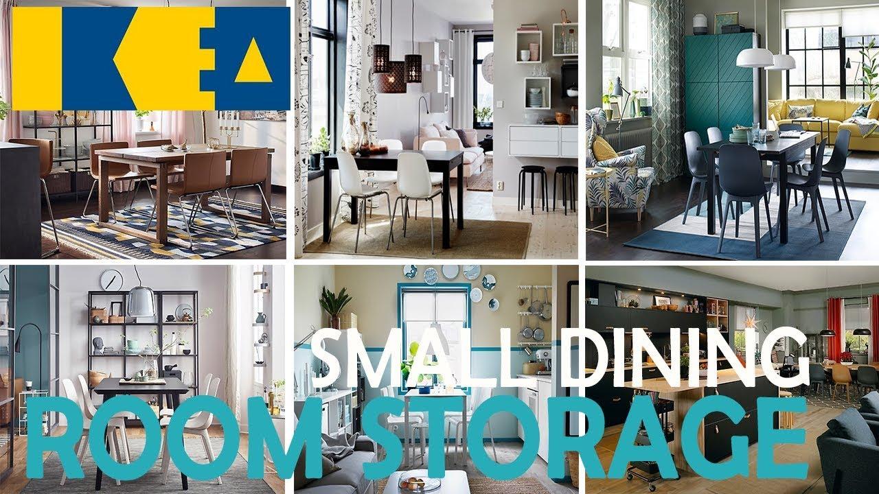 IKEA Small Dining Room Storage Ideas