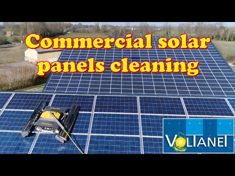 VOLTANET - COMMERCIAL SOLAR PANELS CLEANING WITH ROBOT