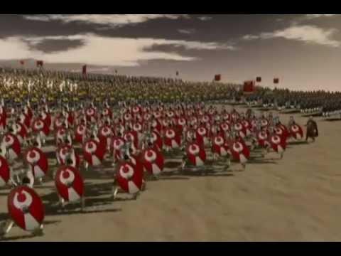 AOE - Đại chiến Roman vs Persian (Rất hoành tráng)