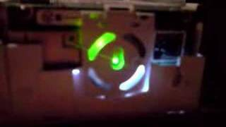 XBOX 360 dvd drive activity LED's