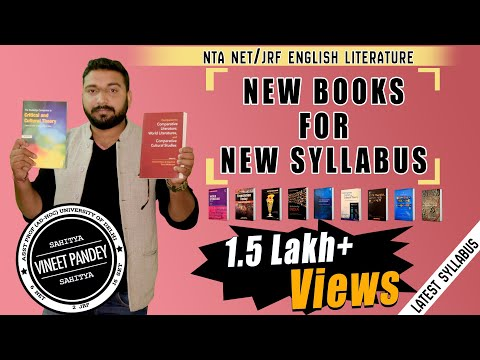"Most important ""NEW BOOKS AND MATERIAL"" For LATEST SYLLABUS of NET JRF ENGLISH."