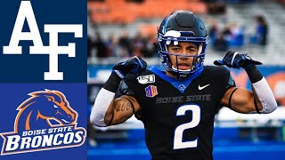 Air Force Vs #20 Boise State Highlights   Ncaaf Week 4   College Football Highlights