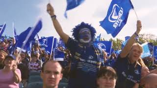 """""""We'll be behind them, all the way"""" - A message from the supporters   Leinster v Scarlets"""
