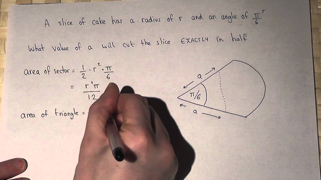 How to find the area of sector using radians youtube how to find the area of sector using radians ccuart Gallery