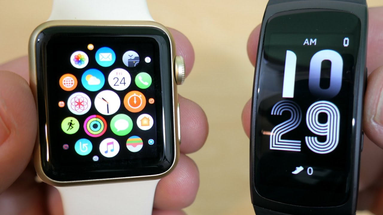 Apple Watch или Samsung Gear Fit2. Что лучше?