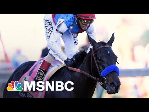 Medina Spirit Trainer Blames 'Cancel Culture' For Failed Drug Test | Rachel Maddow | MSNBC