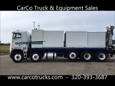 FREIGHTLINER WITH PK KNUCKLE CRANE FOR SALE BY CARCO TRUCK