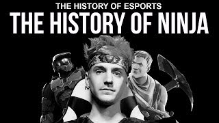 The History of Ninja - More Than Luck | The History of ESPORTS (Fortnite Halo PUBG H1Z1)