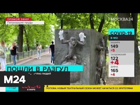 Уровень городской активности наулицах столицы превысил 60% - Москва 24