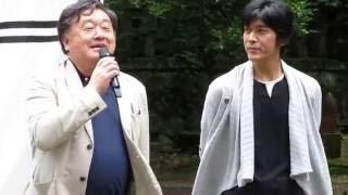 2016.06.26 PM2:40頃 春日山にて 上杉おもてなし武将隊の演武に、映画「...
