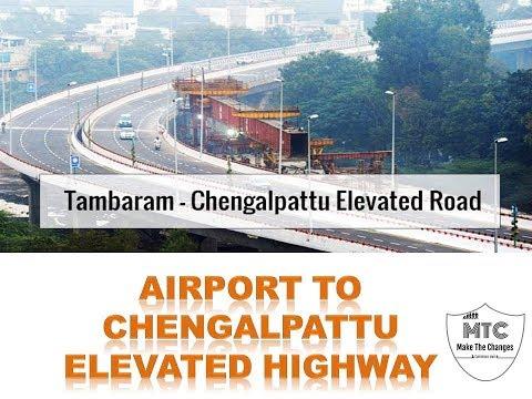 Tambaram Chengalpattu Elevated Highway | பறக்கும் வழி சாலை | #elevatedhighway | #makethechanges