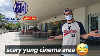 Mall Of Asia & CINEMA During Lockdown Shopping (Parang Ghost Town Na!) 🇵🇭