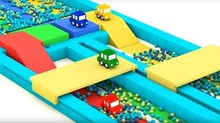 Cartoni animati per bambini: Macchinine Colorate e la gara automobilistica