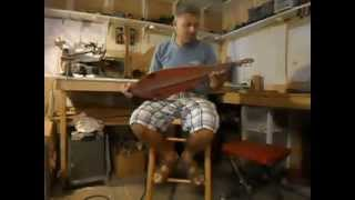 Mountain Dulcimer Primitive Model - Black Peak Studio