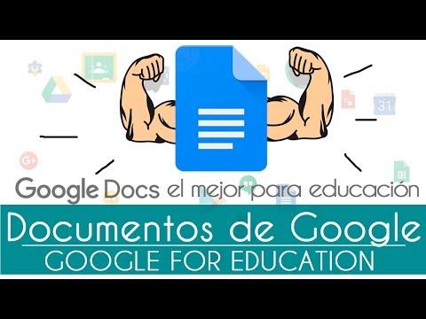 Google Docs: Qué Es Y Cómo Funciona Documentos De Google - Ideas Para Profes