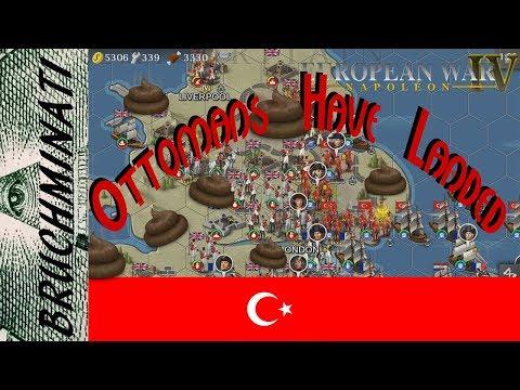 European War 4   Ottoman Empire 1798 Conquest #5 Ottomans in England!