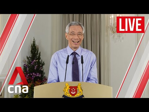 [LIVE HD] COVID-19: PM Lee Hsien Loong says Singapore to move to Phase 3, vaccines on the way