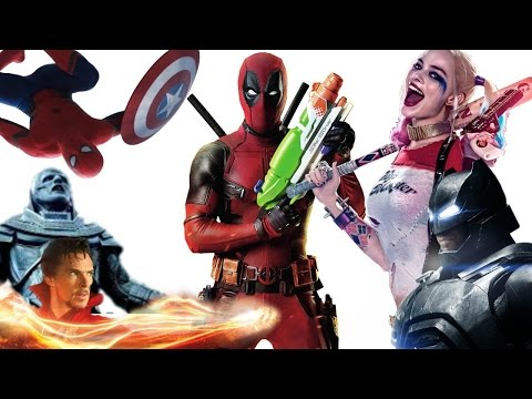 Superhero Films in 2016: An Unpopular Ranking