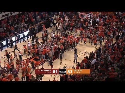 Oklahoma State upsets No. 4 Ok trae young