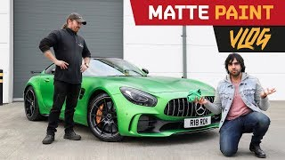 Matte Paint: How to Clean & Care for it? F1 Wax Answers!! -| BTS VLOG
