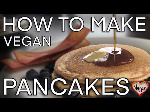 How to make Delicious Homemade Vegan Pancakes!