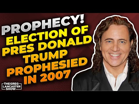 PROPHECY! Election of Pres Donald Trump Prophesied in 2007, Impeachment Attempts Prophesied in 2014