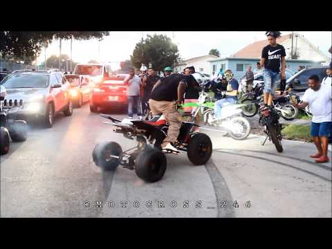 Full MLK Movie Rideout In Miami 2017 (Dir By @Motocross_246)