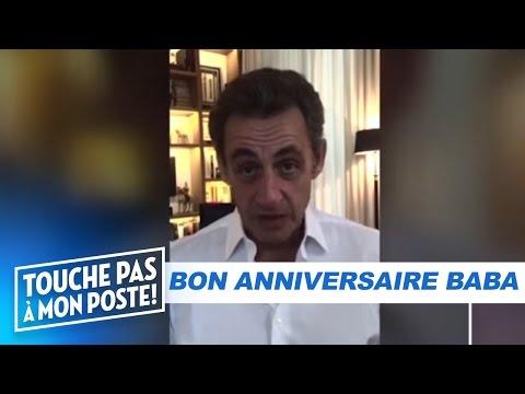 Sarkozy, Kendji et Omar Sy souhaitent un bon anniversaire à Cyril Hanouna - TPMP