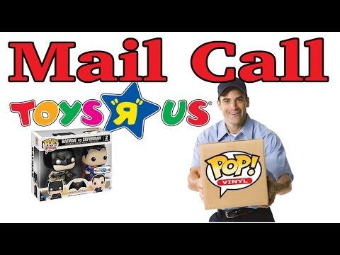 Mail Call - Toys R Us Exclusive Batman Vs Superman